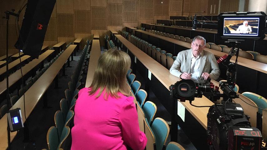 Grett OConnor Documentary Producer Presenter Ireland 1