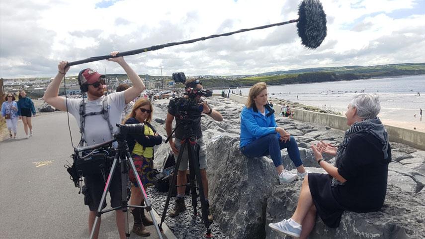 Grett OConnor Documentary Producer Presenter Ireland 2