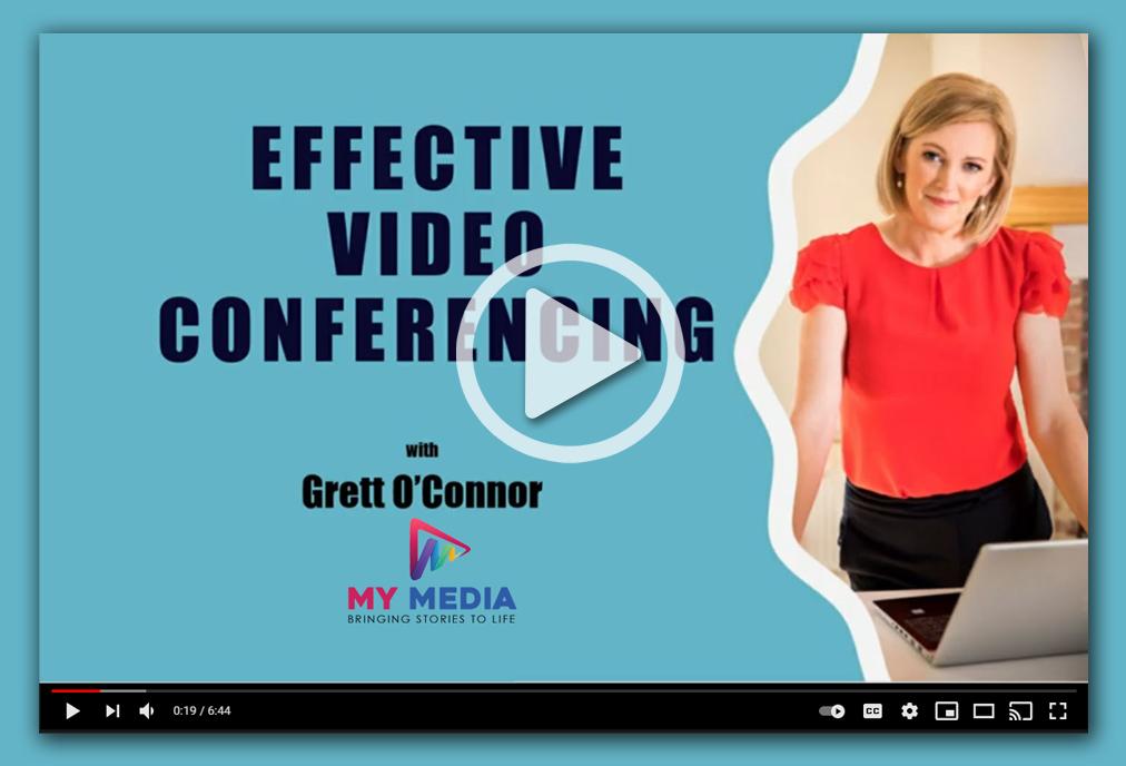 Grett OConnor My Media effective video conferencing